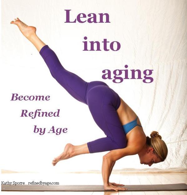 lean into